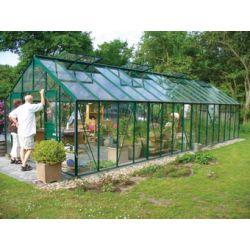 Szklarnia Gardener - Ogrodnik 27 m2 (zielona, 3mm szkło)...