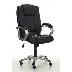 Fotel biurowy Manline - czarny...