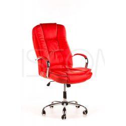 Fotel biurowy Max - czerwony...