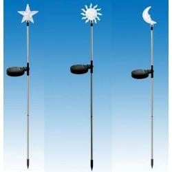 Lampy solarne 1 led komplet...