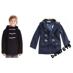 10G płaszcz jak zara KURTKA 134 modny OKAZJA