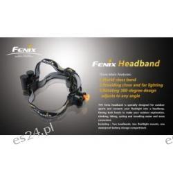 Montaż do latarki fenix na głowę - Fenix Headband  Pistolety