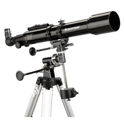 Teleskop Celestron PowerSeeker 70EQ Noże