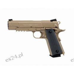 Wiatrówka Colt 1911 M45 CQBP Blow Back 4,5 mm Desert (5.8177)