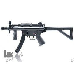 Wiatrówka pistolet maszynowy HECKLER & KOCH HK MP5 Teleskopy