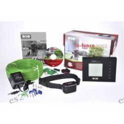 Elektroniczny niewidzialny płot DOGTRACE d-fence 2002 czarny
