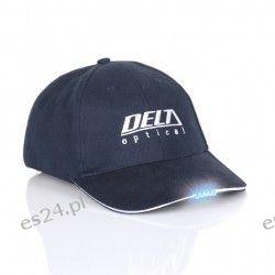Czapka Delta Optical z czerwonymi diodami LED  Fotografia