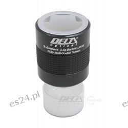 """Apochromatyczna soczewka Barlowa Delta Optical-GSO 2,5x 1,25""""  Fotografia"""