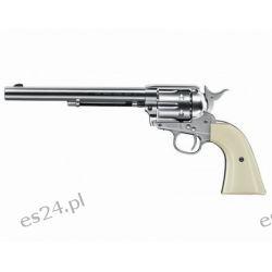 "Wiatrówka - rewolwer Colt Single Action Army 45 Peacemaker Nickel 7,5"" 4,5 mm (5.8335)"