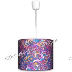 Lampa wisząca Kolorowe fale Lampy
