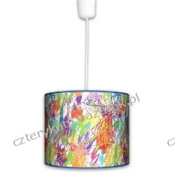 Lampa wisząca Kolorowe kredki