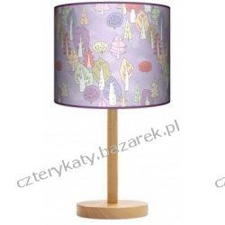 Lampa stojąca Rysunkowy las Pufy