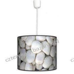 Lampa wisząca Biały kamień Lampy