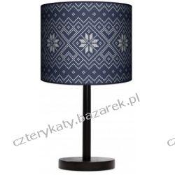 Lampa stojąca Niebieska dzianina Szafy
