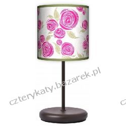 Lampa stojąca eko Pink rose Pufy