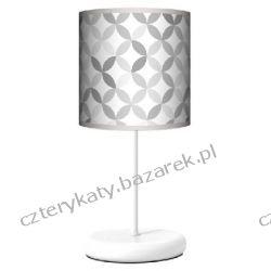 Lampa stojąca eko Light grey Grzejniki