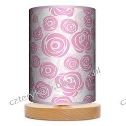 Lampa stojąca mała Sweet roses Pufy