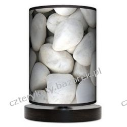 Lampa stojąca mała Biały kamień Wyposażenie