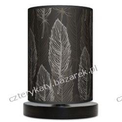 Lampa stojąca mała Delocate dark Wyposażenie