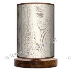 Lampa stojąca mała Wood