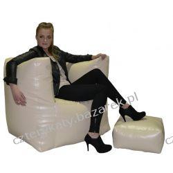 Fotel Tetris+podnóżek