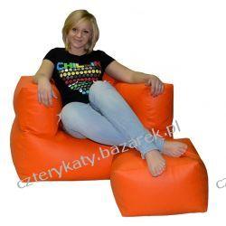 Fotel Relaks + podnóżek