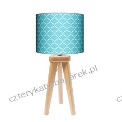 Lampa trójnóg mała Niebieska Laguna Wyposażenie