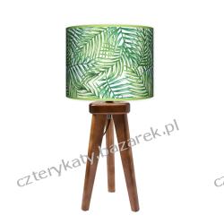 Lampa trójnóg mała Zielona Palma Wyposażenie