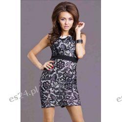 Sukienki wieczorowe koronkowe mini - S, M, L