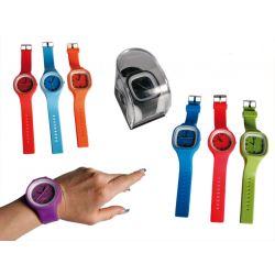 Silikonowy zegarek
