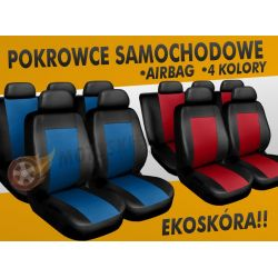 VW PASSAT B5 B4 JETTA POKROWCE SAMOCHODOWE SKÓRA