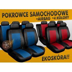 SKÓRZANE POKROWCE SAMOCHODOWE VW PASSAT B4, B5, B6