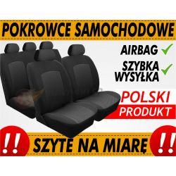 POKROWCE NA MIARĘ SEAT ALHAMBRA 1995-2010 5 OS KPL