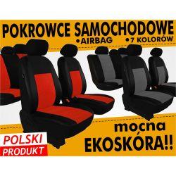 VOLVO S40 V40 / Pokrowce na fotele skórzane SKÓRA