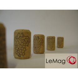 Korki do wina aglomerowane 24mm x 38mm (50 szt.)