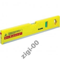 Poziomica z laserem KWB 270 mm magnes DOKŁADNA HIT