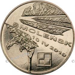 2 zł GN Smoleńsk - Pamięci ofiar 10.04.2010 r.