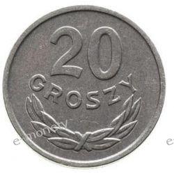 20 Groszy 1983 rok menniczy Monety groszowe