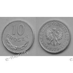 10 Groszy 1979 mennicza Monety groszowe
