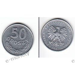 50 groszy 1987 mennicza Monety groszowe