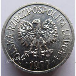 10 Groszy 1977 mennicza