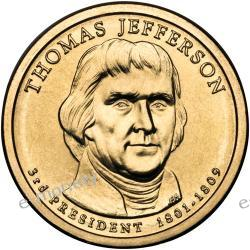 1 $ USA - PREZYDENCI USA - Thomas Jefferson