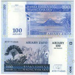 Madagaskar 100 ARIARY 2004