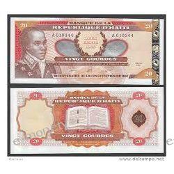 Haiti 20 GOURDES 2001