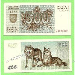 Litwa 500 TALONAS 1993