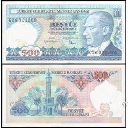 Turcja 500 LIRASI 1984