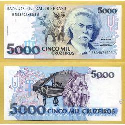 Brazylia 5000 CRUZEIROS 1993