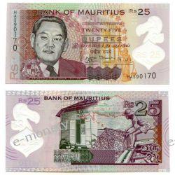 Mauritius 25 RUPPES  2013