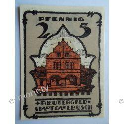 Niemcy 25 Pfennig 1922 - st. bdb.