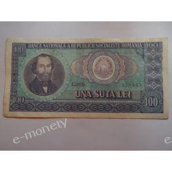 Rumunia 100 LEI 1966